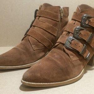 Leopard Pony Brown ASOS 'Atom' Chelsea Boots